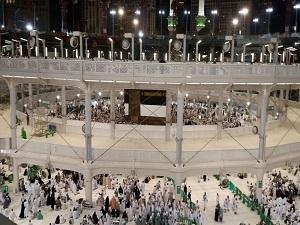 İlk hacı adayı kafilesi Mekke'ye geçti