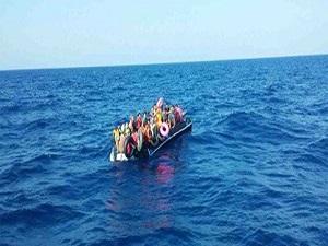 10 günde 3 bin 537 göçmen kurtarıldı