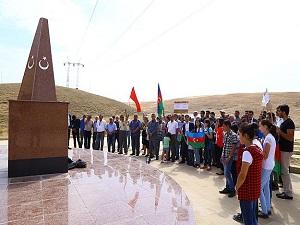 Azerbaycan'daki Osmanlı şehitleri anıldı