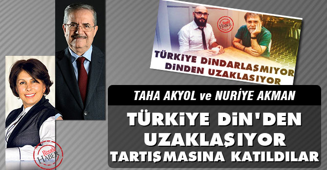 'Türkiye Din'den uzaklaşıyor tartışmasına katkı