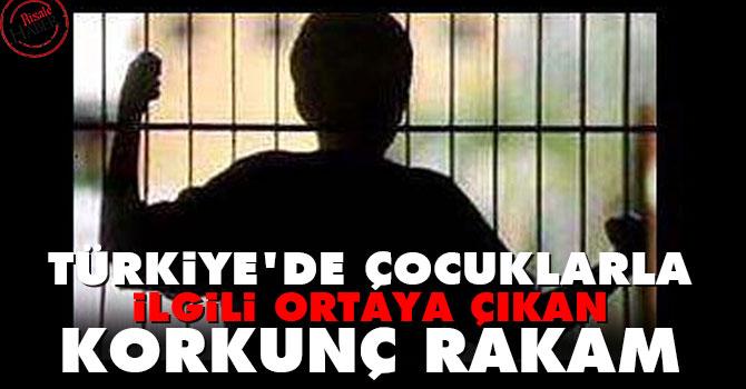 Türkiye'de çocuklarla ilgili ortaya çıkan korkunç rakam