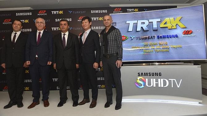 Türk yayıncılık tarihinin ilk 4K yayını 22 Ekim'de