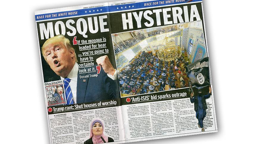ABD'de Türk camisini DAEŞ'le ilişkilendiren gazeteye tepki
