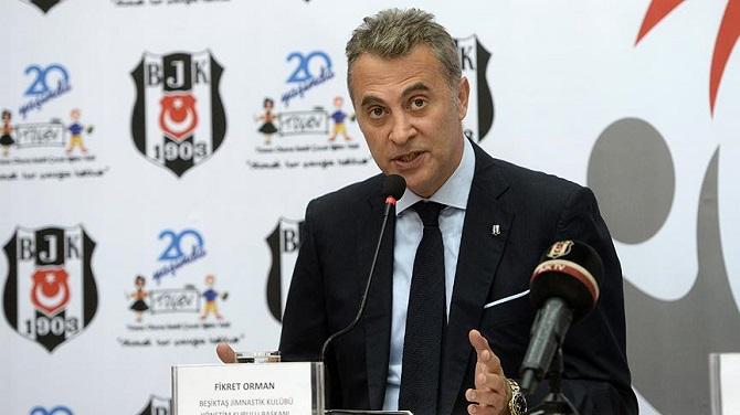 Beşiktaş Başkanı'ndan FETÖ Açıklaması