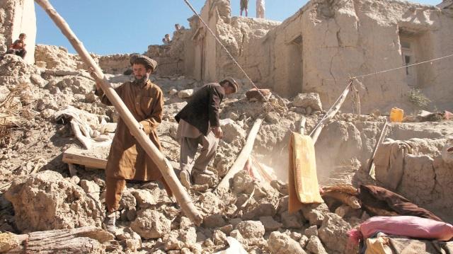 Afganistan'da patlama! 2 çocuk hayatını kaybetti