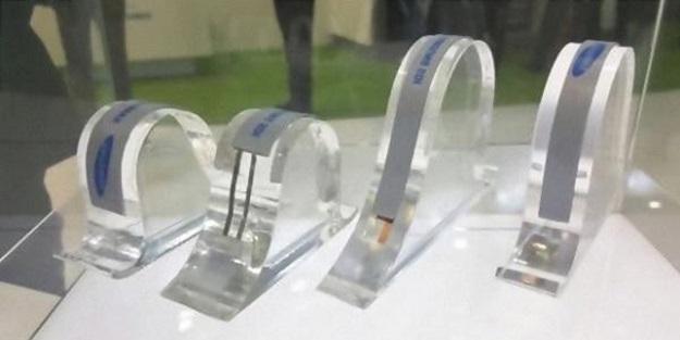 Telefonlar için şerit pil üretildi!