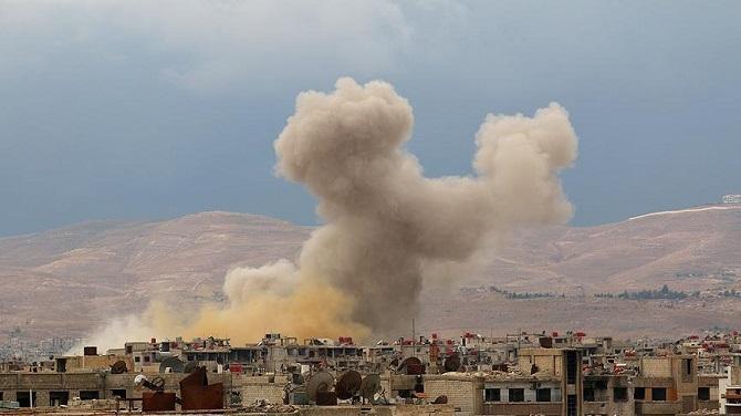 Suriye ordusunun Duma'ya düzenlediği saldırıda 14 sivil öldü