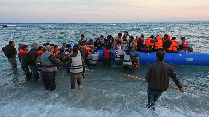 Sığınmacıların Ege'deki tehlikeli yolculuğu