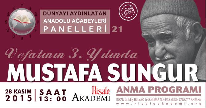 Mustafa Sungur Ağabey Anma Programı