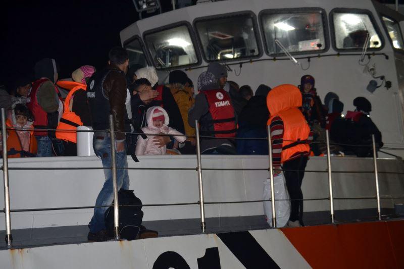 Ege Denizi'nde 222 kaçağı ekipler kurtardı
