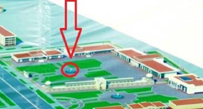 Özbekistan'da 700 yıllık minarenin yerine fıskiye!