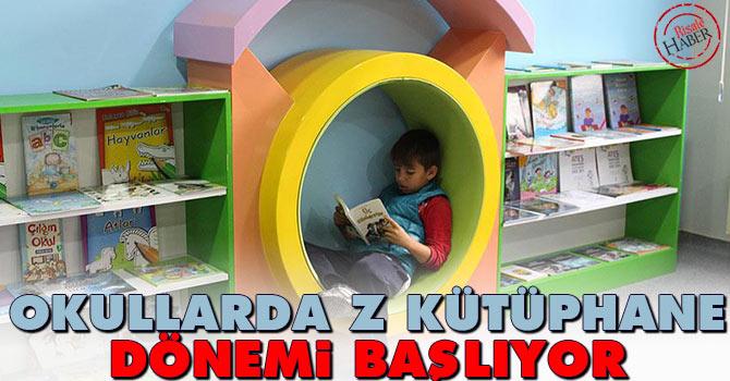 Okullarda z-kütüphane dönemi başlıyor
