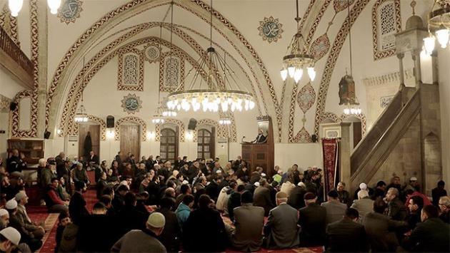 Anadolu'nun ilk camisinde Mevlit Kandili kutlandı