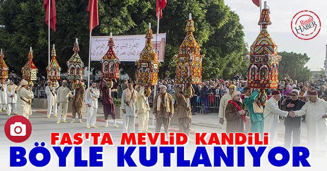Fas'ta Mevlid Kandili böyle kutlanıyor
