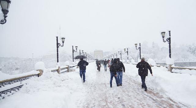 Kar yağışıyla çöken seralarda maddi zarar oluştu