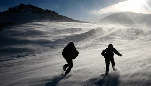 Mevsimin ilk karı Bolu'ya Yağdırıldı