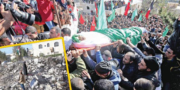 İsrail hem öldürüyor hem evlerini yıkıyor
