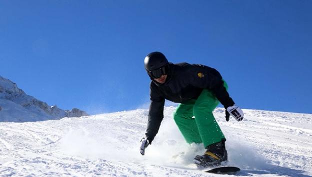 Davraz Kayak Merkezi'nde kesintisiz canlı yayın
