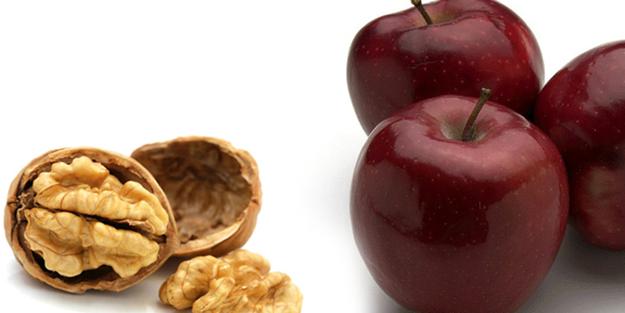 Sağlık için:Günde bir elma, üç ceviz