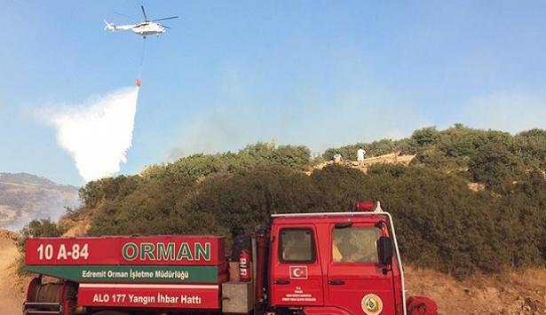Orman yangınlarına müdahale süresi kısaldı