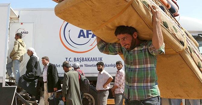Akdağ: Suriyeli sığınmacılar konusunda en büyük yükü AFAD üstlendi