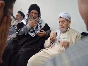 Müslim Gündüz'den Said Özdemir Ağabey'e taziye ziyareti