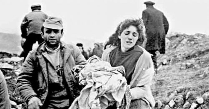 Hocalı Katliamı tanığı yaşadıklarını gözyaşları içinde anlattı
