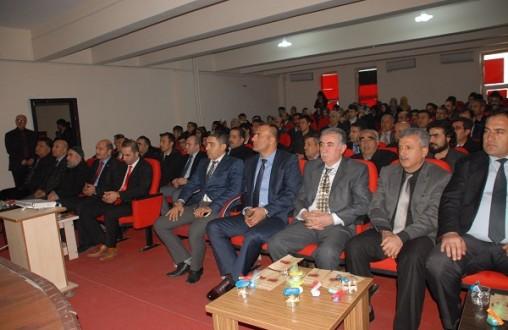Muş Bulanık'ta Said Nursi anma programı
