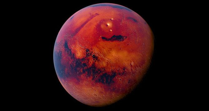 Mars keşif aracı ilerleyişini sürdürüyor