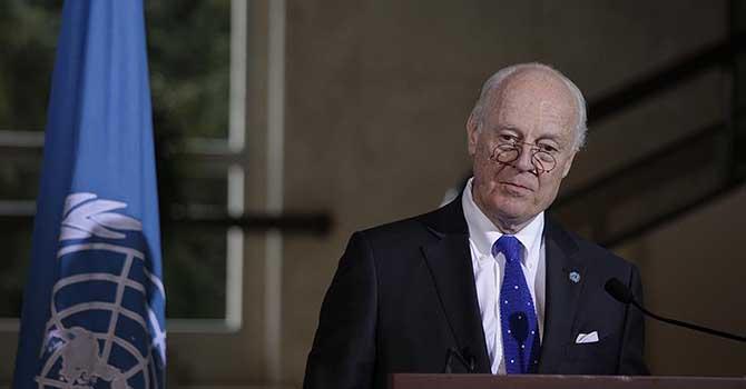 Mistura: Suriye'deki saldırılar durmalı