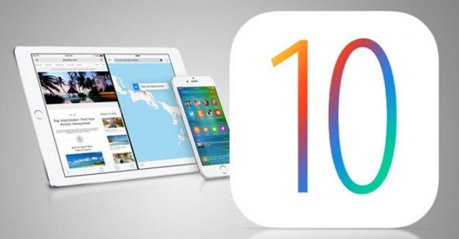 İOS 10'un özellikleri ve geldiği telefonlar!