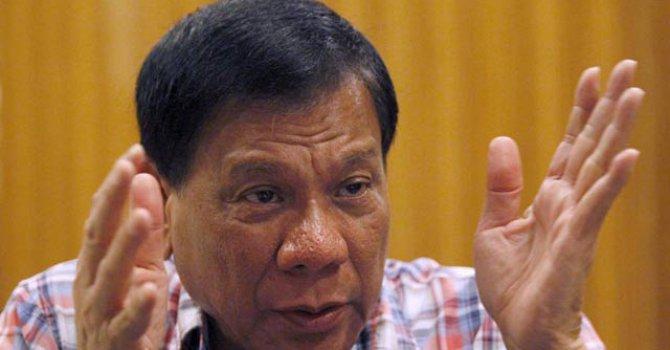 Duterte'den BM gözlemcisine sert tepki