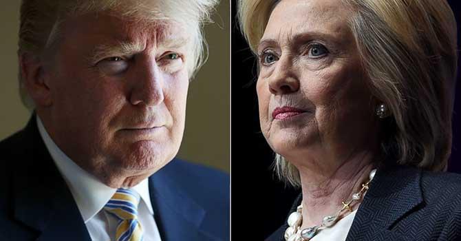Trump ve Clinton karşı karşıya geliyor