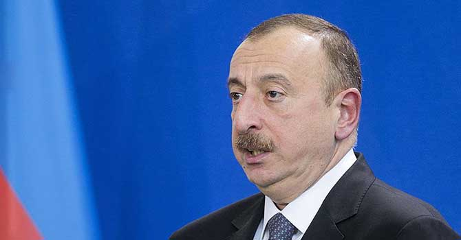 Aliyev: Müslüman Mültecilere çifte standart uygulayanlar mı birlik olalım?
