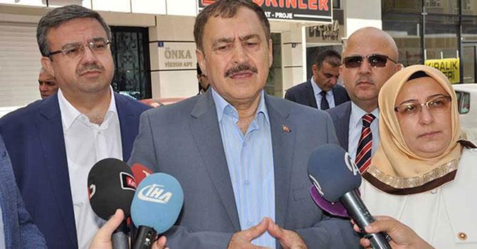 Eroğlu: Terör örgütleriyle mücadele sonuna kadar sürecek