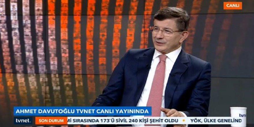 Davutoğlu: Türkiye'nin gücüne darbe vurmak istediler
