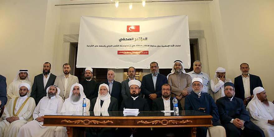 Dünya Alimlerinden 'Türkiye'nin her türlü kötülükten korunması' duası