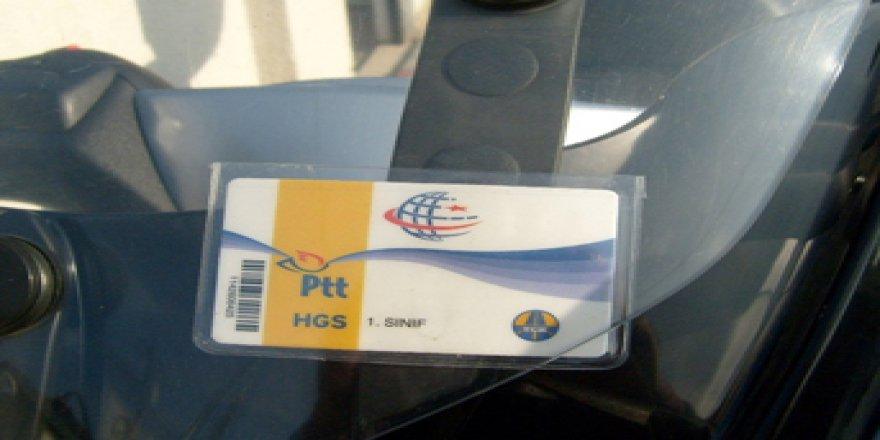 PTT'den HGS uyarısı