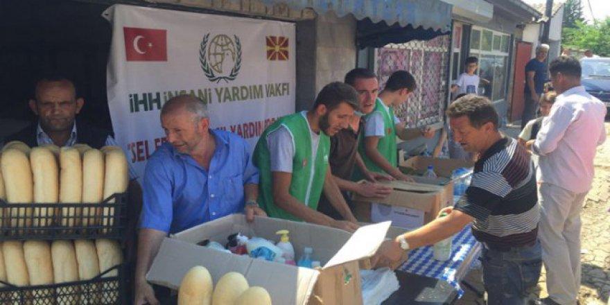 İHH, Macaristan'da Kurban Eti Dağıttı