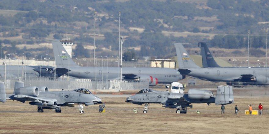 ABD, Ortadoğu'da İncirlik'e alternatif üsler açmayı tartışıyor