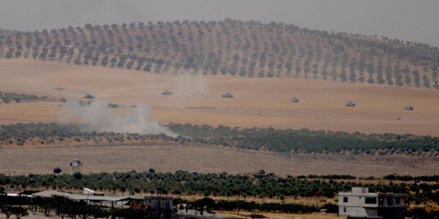 IŞİD mevzileri vuruluyor