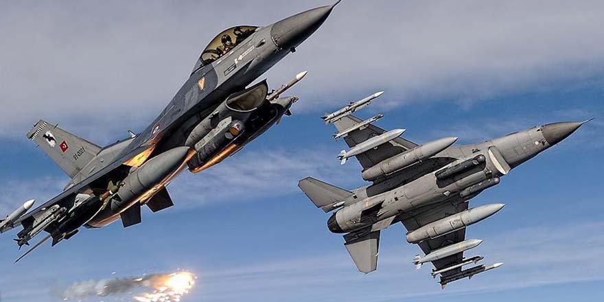 TSK'dan açıklama! Savaş uçakları orayı bombaladı