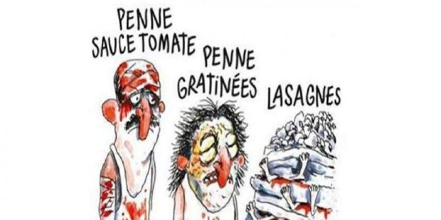 Charlie Hebdo'ya deprem karikatürü tepkisi