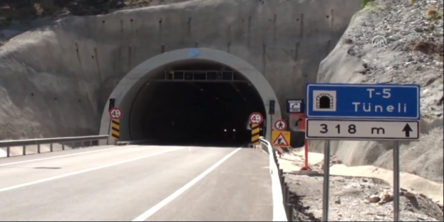 Ovit Tüneli'nde son 90 metre