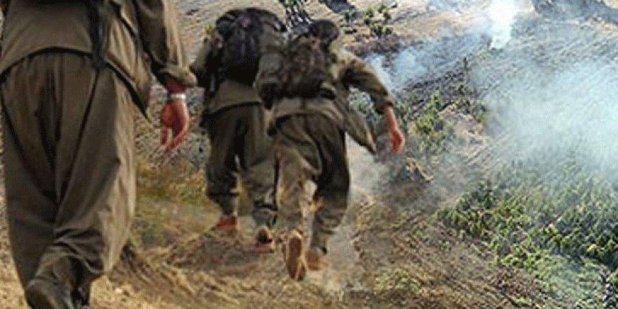 Adıyaman'da PKK'lılar GSM vericilerini yaktı