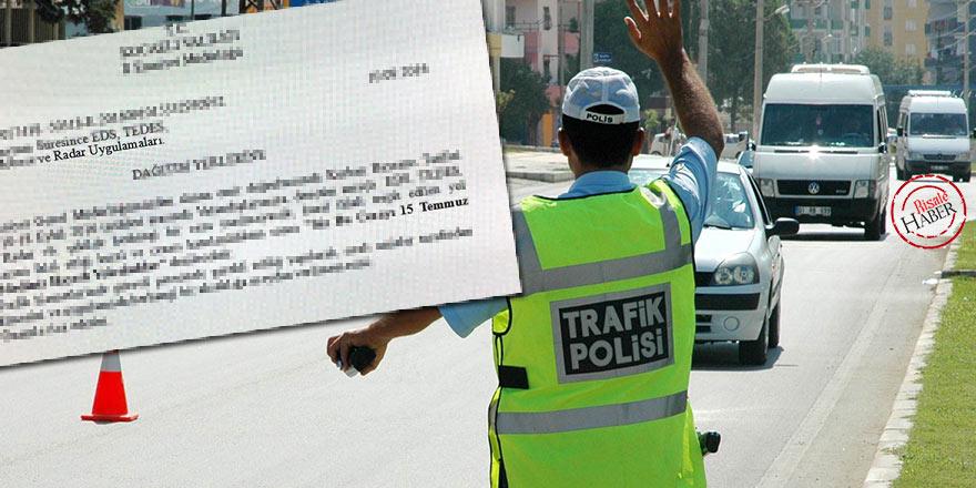 Bayram yolculuklarında radara yakalanan vatandaşa 15 Temmuz notu