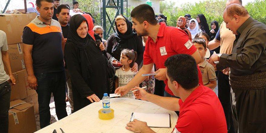 Türk Kızılayı'ndan Iraklı Türkmenlere bayram yardımı