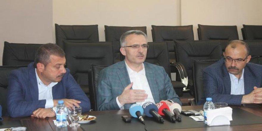 Maliye Bakanı Ağbal: 'EDS sistemi devam ettirilmeli'