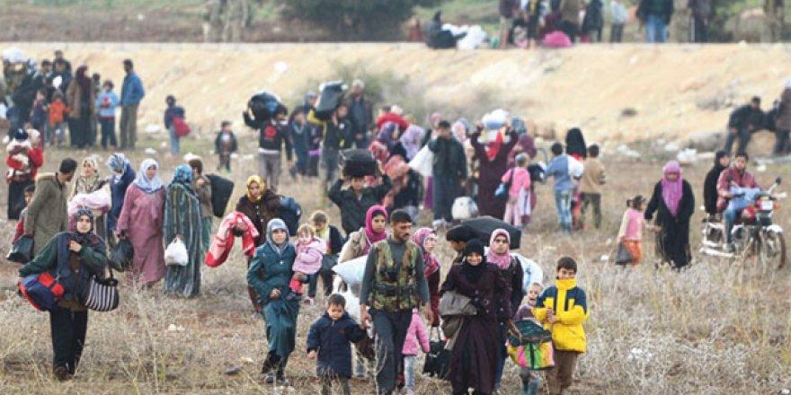 O ülkedeki Suriyelilerin %60'ı kayboldu