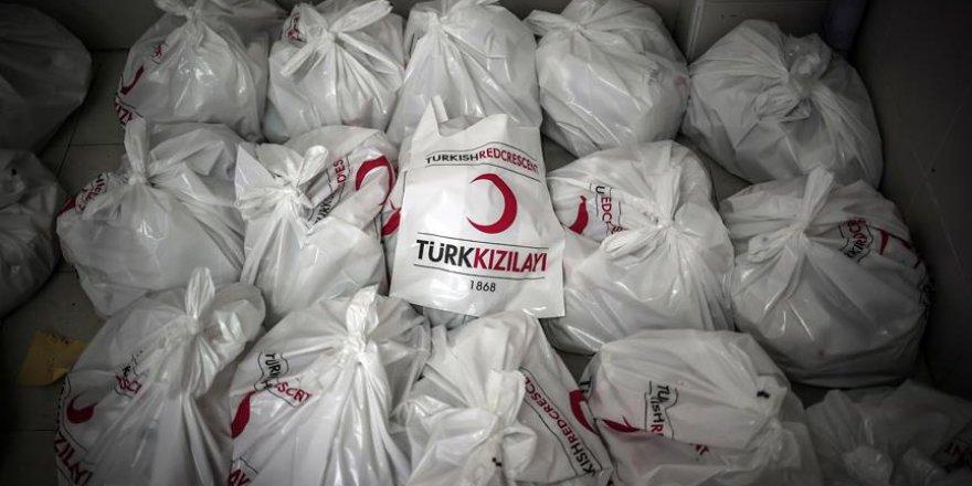 Türk Kızılayı Gazze'de kurban eti dağıttı